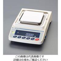 エスコ(esco) 220g(0.001g) 電子天秤(校正用分銅内蔵型) 1台 EA715CA-31(直送品)