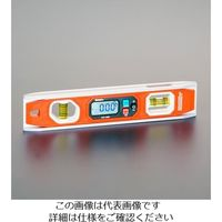 エスコ(esco) 250mm 水平器(デジタル/強力マグネット付) 1個 EA721JD-2(直送品)