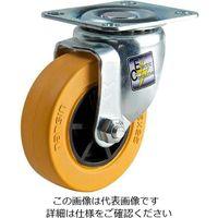 エスコ(esco) 50mm キャスター(自在金具付・静電防止) 1セット(10個) EA986PT-611(直送品)