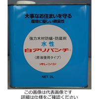 泉商事 水性白アリパンチ 3L オレンジ SSP-OR3 1セット(6L:3L×2缶)(直送品)