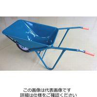 イワキ(IWAKI) 関越工業 3切A型一輪車セット グリーン ノーパンクタイヤ付 A-NP 1台(直送品)
