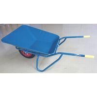 イワキ(IWAKI) 関越工業 2切SB型一輪車セット グリーン エアータイヤ付 SB-AW 1台(直送品)
