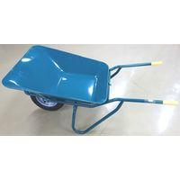 イワキ(IWAKI) 関越工業 2切SB型一輪車セット グリーン ノーパンクタイヤ付 SB-NP 1台(直送品)