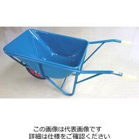 イワキ(IWAKI) 関越工業 3切B型一輪車セット グリーン エアータイヤ付 B-AW 1台(直送品)