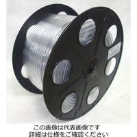 カクイチ 透明ホース 4MMX6MM 80M TH4X6-80 1セット(320m:80m×4巻)(直送品)