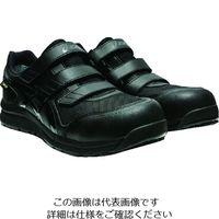 アシックス ウィンジョブCP602 G-TX ブラック×ブラック 24.5cm 1271A036.001-24.5 195-1499(直送品)