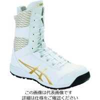 アシックス ウィンジョブCP403 TS ホワイト/ピュアゴールド 26.5cm 1271A042.100-26.5 195-1807(直送品)