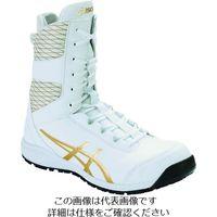 アシックス ウィンジョブCP403 TS ホワイト/ピュアゴールド 24.5cm 1271A042.100-24.5 195-1803(直送品)