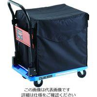 TRUSCO 樹脂台車 カルティオ CHBハンドトラックボックス付 ブルー MPK720B-CHB 161-4007(直送品)