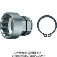兼古製作所 アネックス オフセットアダプター30mm 専用ソケット H32mm AOA-3032 1個 200-0968(直送品)