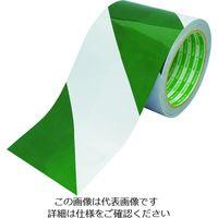 日東エルマテリアル(Nitto) 日東エルマテ 再帰反射テープ 90mmx10m 緑/白 HT-90GW 1巻(10m) 206-5706(直送品)
