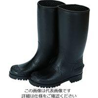 トラスコ中山(TRUSCO) TRUSCO 防寒レインブーツ ブラック LL TR100MU-BK-LL 1足 195-1358(直送品)