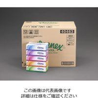 エスコ(esco) ティッシュペーパー(クリネックス/60箱) 1ケース(60箱) EA929A-10B(直送品)