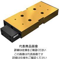 シリンダ付きリニアボールスライド ユニットベース付き 外部ストッパ付き リミットスイッチ付き LSC形 LSC 1515BSL(直送品)