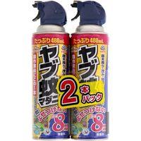 アース製薬 EGヤブ蚊マダニジェット 2本パック 2055800 1パック(2本)(直送品)