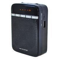 ポータブル拡声器 ハンズフリー/USB充電/リチウム電池内蔵/FMラジオ搭載/MP3再生 F.R.C ポータブル拡声器 NX-BV10 1個