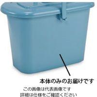 テラモト(TERAMOTO) ニューセレクトモップバケツ C-17 本体 ブルー DS-988-048-3 1セット(4個)(直送品)