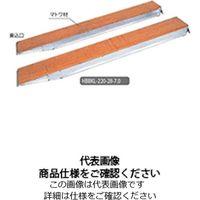 長谷川工業 足場板アルミブリッジ HBBKL-220-28-5.0 1台(直送品)