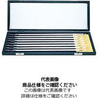 佐藤計量器製作所 二重管標準温度計8本組セット(箱入) NO.0021 0021-10 1本(直送品)
