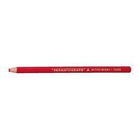 エスコ(esco) 油性色鉛筆(12本/赤) 1セット(48本:12本×4箱) EA765MD-21(直送品)