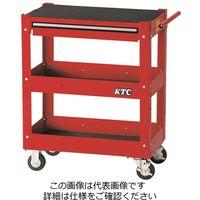 KTC 京都機械工具 2021 SKSALE 3段1引出し ツールワゴン ソリッドレッド SKX2613ST(直送品)