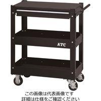 KTC 京都機械工具 2021 SKSALE 3段1引出し ツールワゴン ソリッドブラック SKX2613BK(直送品)