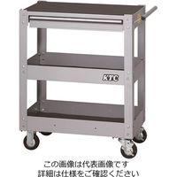 KTC 京都機械工具 2021 SKSALE 3段1引出し ツールワゴン メタリックシルバー SKX2613S(直送品)