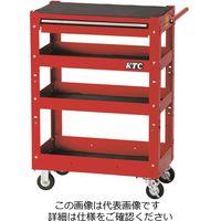 KTC 京都機械工具 2021 SKSALE 4段1引出し ツールワゴン レッド SKX2704ST(直送品)