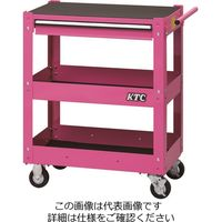 KTC 京都機械工具 2021 SKSALE 3段1引出し ツールワゴン ピンク SKX2613P 1台(直送品)
