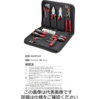 Wiha(ビーハ) 機械工用 パウチ入り工具セット 31本組 HXS639PCH31 1セット(直送品)