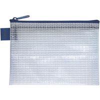 セキセイ アゾン メッシュケース ミニ A7 LIPサイズ ブルー AZ-133-10 5冊(直送品)