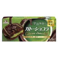 森永製菓 宇治抹茶のガトーショコラ 1箱 洋菓子の画像