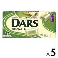森永製菓 抹茶の白いダース 5箱 チョコレートの画像