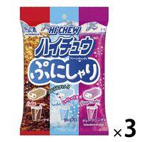 森永製菓 ぷにしゃりハイチュウアソート 3袋の画像