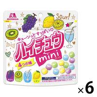 森永製菓 ハイチュウミニパウチ 6袋の画像