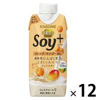 カゴメ 野菜生活Soy+ オレンジ・マンゴーMix 330ml 1箱(12本入)の画像