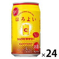チューハイ ほろよい シュワビタサワー 350ml 1ケース(24本入) サワー 酎ハイ 缶チューハイの画像