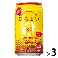 チューハイ ほろよい シュワビタサワー 350ml×3本 サワー 酎ハイ 缶チューハイの画像