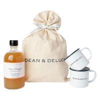 DEAN&DELUCA ディーン&デルーカ D&Dピュアジンジャー&ホーローマグカップ 1セット サンキューギフトの画像