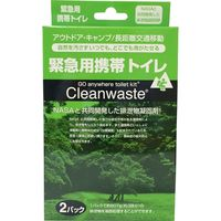 Cleanwaste 緊急用 携帯トイレセット 50ケ入れ S264 1着(直送品)