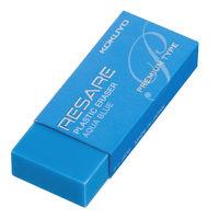 コクヨ(KOKUYO) プラスチック消しゴム<リサーレ> (プレミアムタイプ) 青 ケシ-90B 1セット(10個)(直送品)