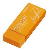 コクヨ(KOKUYO) プラスチック消しゴム<リサーレ> (プレミアムタイプ) オレンジ ケシ-90YR 1セット(10個)(直送品)