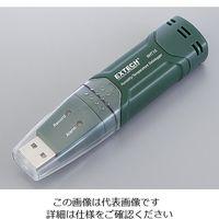 アズワン 温湿度データロガー(メモリスティック型) 校正証明書付 RHT10 1台 2-3188-01-20(直送品)