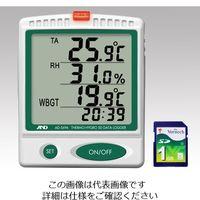 アズワン デジタル温湿度SDデータロガー 校正証明書付 AD5696 1台 1-2400-01-20(直送品)