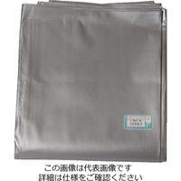 萩原工業 UVシート#4000 シルバー 規格5.4×7.2m 4枚入 4962074704399 1セット(4枚)(直送品)