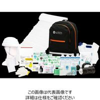 LA・PITA 防災セット SHELTER【アドバンス】黒 10002301-BK 1個(直送品)