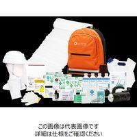 LA・PITA 防災セット SHELTER【アドバンス】橙 10002301-OG 1個(直送品)