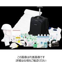 LA・PITA ものすごい防災セット【アドバンス】黒 10002306-BK 1個(直送品)
