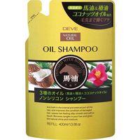 熊野油脂 ディブ 3種のオイル シャンプー(馬油・椿油・ココナッツオイル) 4513574024311 1セット(400ML×12)(直送品)