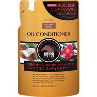 熊野油脂 ディブ 3種のオイル コンディショナー(馬油・椿油・ココナッツオイル) 4513574024328 1セット(400ML×12)(直送品)